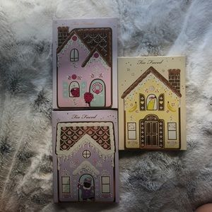 Too Faced set of 3 holiday pallets